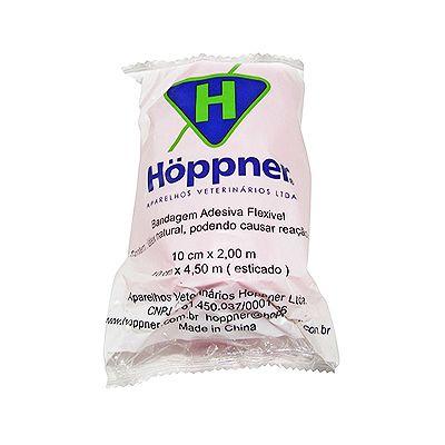 Bandagem Adesiva FlexÍvel 10 X 4,5 Cm Vermelha - Hoppner