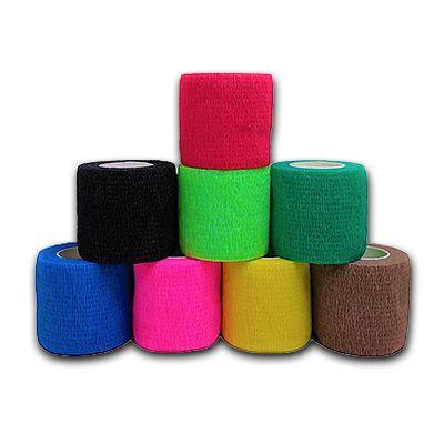 Bandagem Adesiva FlexÍvel 5 X 4,5 Cm Vermelha - Hoppner