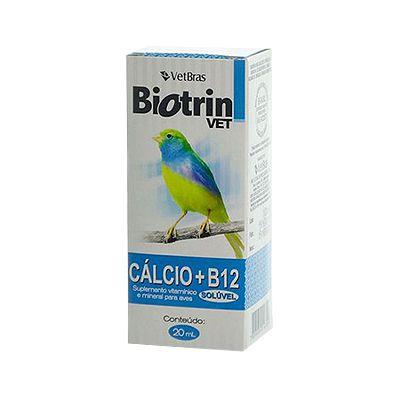 Biotrin Cálcio + B12 20 ML