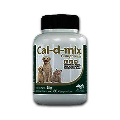 Cal-D-Mix Suplem 30 Comprimidos 45 G
