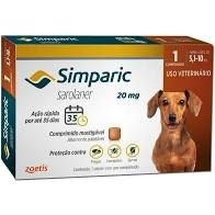 Simparic 1 Comp  20 MG (5,1 Kg - 10 Kg)