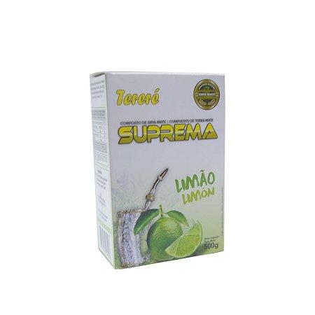 Erva Mate Tereré Limão 500 G - Suprema