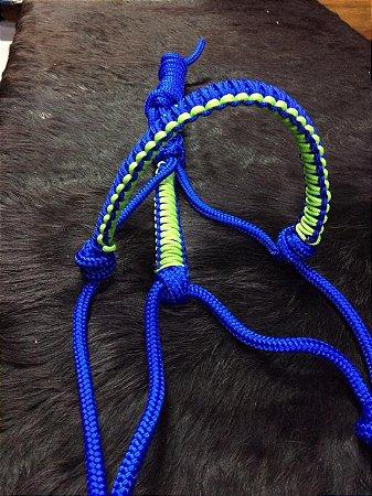 Cabresto de Corda Azul/Verde - Jc