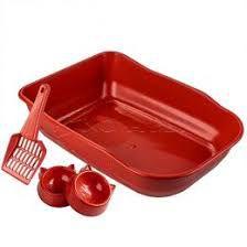 Kit Bandeja Single Duracat Vermelha