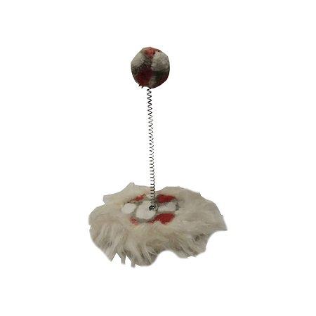 Brinquedo Pelucia Bolinha C/ Mola