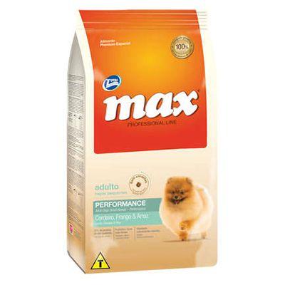 Max Cães Professional Line Adulto Raças Pequenas Frango E Arroz