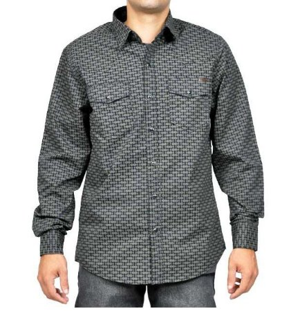 Camisa Masculina Manga Longa Tassa Marinho Regular Ref. 4072cm0 - V1