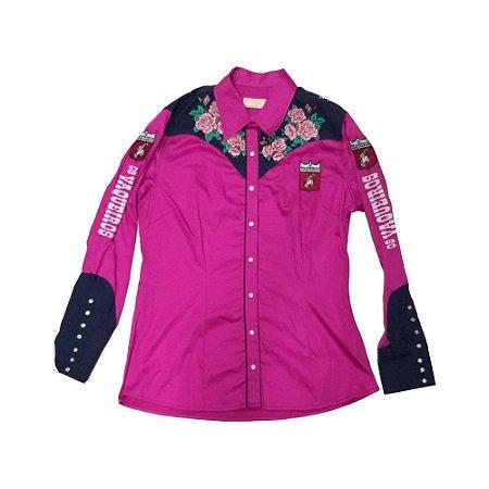 Camisete ML 7119 Arena Flowers Ref. 25003 - Pink