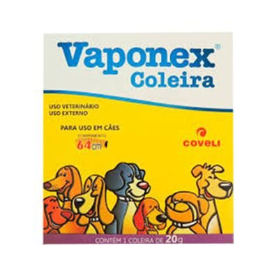 Coleira Vaponex Antipulgas P/ Cães 64 Cm