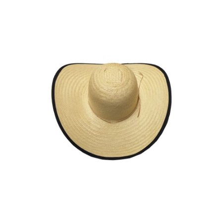 Chapéu de Palha Ref. 041 - Caranda Comum c/ Viés