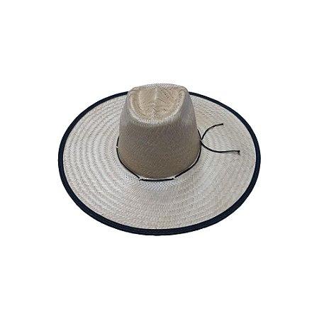 Chapéu de Palha Ref. 044 c/ Viés