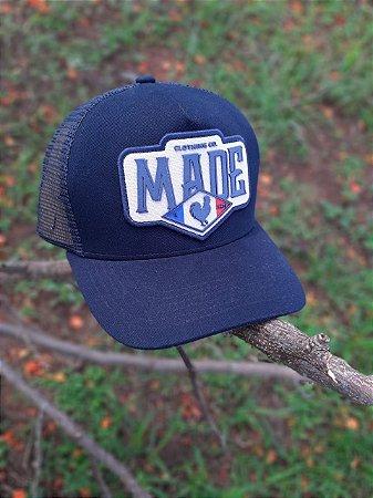BONÉ TRUCKER BLUE FRANCE B1550 - MADE IN MATO