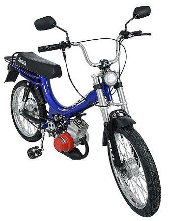 Mobilete 2 Tempos 40cc Bikelete - Azul