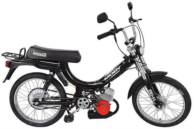 Mobilete 2 Tempos 40cc Bikelete - Preto