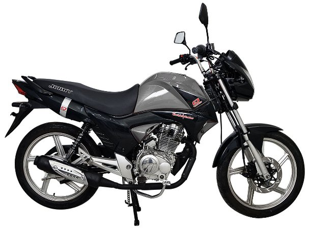 Moto Jonny Quick 150cc 0Km Cinza