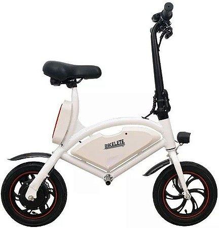 Bicicleta Elétrica Bikelete Z-100 350w Branca