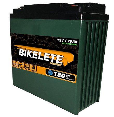 Bateria Para Bicicleta Eletrica 12v 20ah Ciclo Profundo