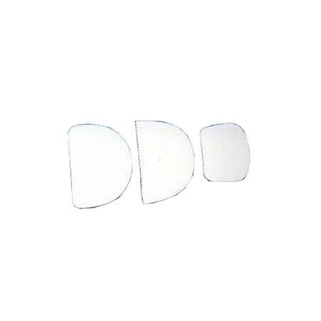 Conjunto 3 Espatula Plastica Confeitaria Bolo Glasse 0660 Gallizzi
