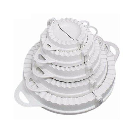 Conjunto Formas Pastel Empada 5 Pecas Plastico 0390 Ligbrin