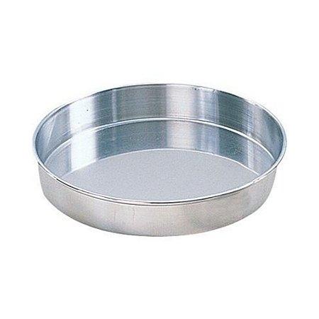 Forma Aluminio Redonda Fundo Fixo 27 x 10 Cm 0707 Gallizzi