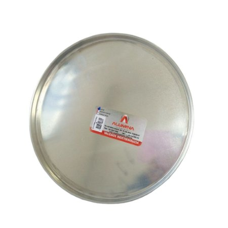 Forma P/ Pizza Aluminio C/ Borda N. 35 0296 Alumina