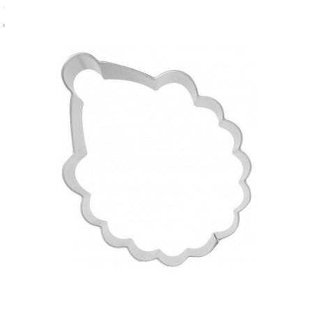 Aro Cortador Inox Papai Noel 20 x 5 Cm 0514 Gallizzi