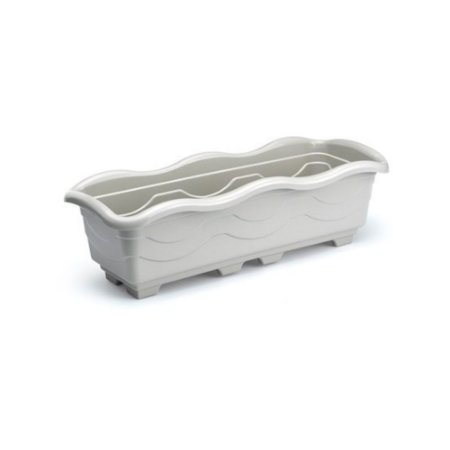 Jardineira Extra Grande Marmore Plastica 80 Cm 0994 Injeplastec