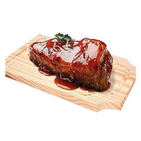 Tabua Carne Churrasco Madeira Especial 40 Cm 0272 Alves