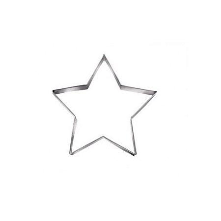 Aro Cortador Inox Estrela P 25 x 5 Cm 0503 Gallizzi