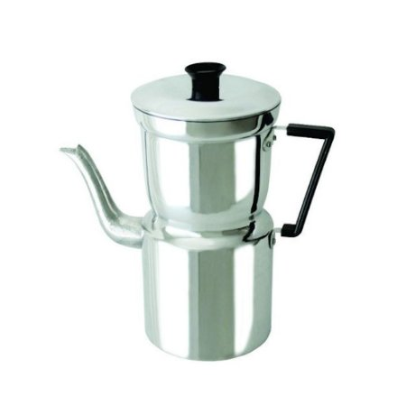 Cafeteira Aluminio C/ Coador N. 11 Pegador Baquelite 0087 Arary