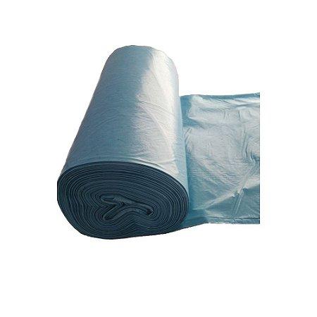 Saco Lixo Azul 100 Litros Rolao 75 x 105 cm Dinalix 1307