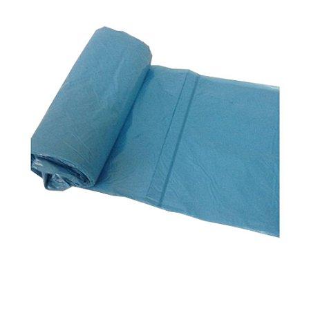 Saco Lixo Azul 50 Litros 10 Unidades 63 x 80 Dinalix 1290
