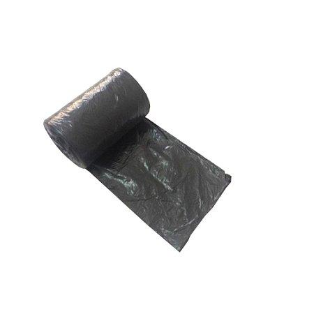 Saco Lixo Preto 100 Litros 75 x 105 Cm  25 Un Dinalix 1303