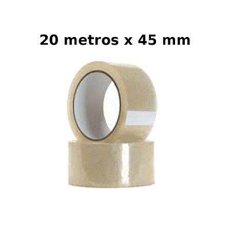 Fita Adesiva 20 Metros 45 Mm Fitar 0018