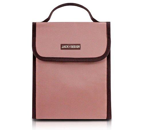 Bolsa Térmica com alça Essencial Jacki Design Rosa