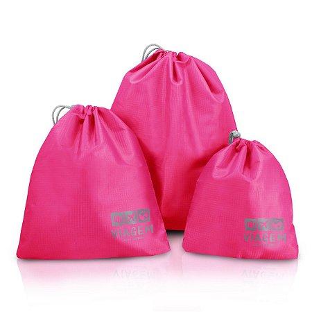 Bolsas Organizadoras de Malas P M G Jacki Design Pink