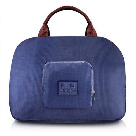 Bolsa dobrável de viagem Jacki Design Azul