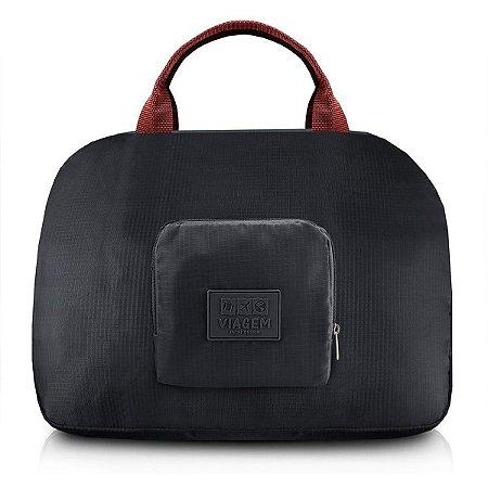 Bolsa dobrável de viagem Jacki Design Preta