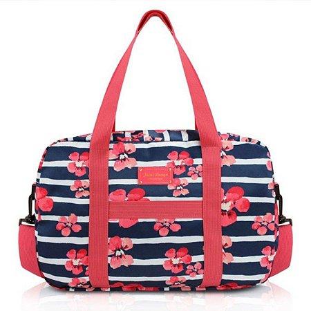 Bolsa para Viagem ou Academia bossanova azul Jacki Design