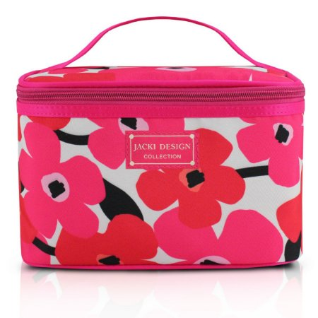 Necessaire Frasqueira Papoula Jacki Design Pink
