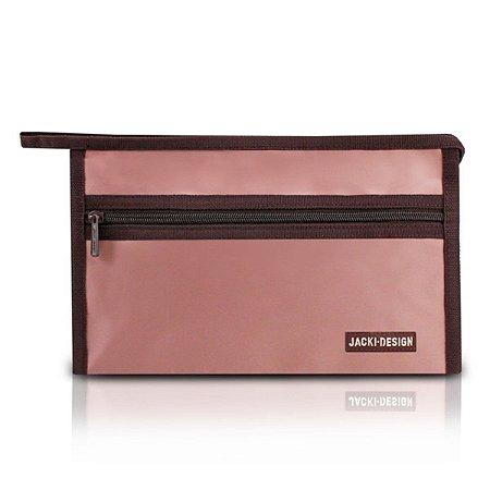 Necessaire envelope pequena Essencial Jacki Design Rosa