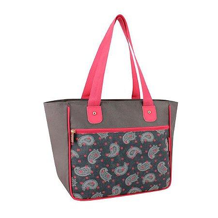 Bolsa sacola feminina de ombro classic ameba Jacki Design