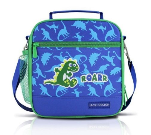Lancheira Térmica Escolar infantil dragão Jacki Design