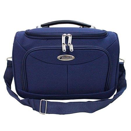 Bolsa de viagem unisex F14 azul com alça carona Cruzeiro
