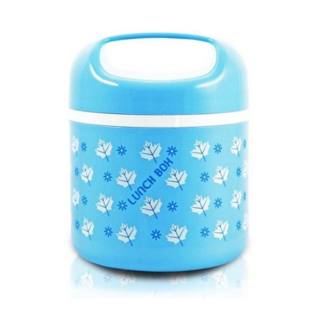 Pote Marmita azul Lunch Box 780 ml Jacki Design