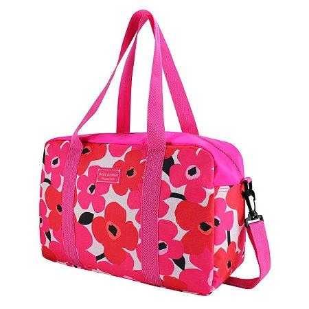 Bolsa de bordo Papoula Jacki Design Pink