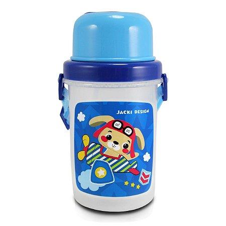 Squeeze Infantil 450ml Jacki Design Filhotinhos Cachorro