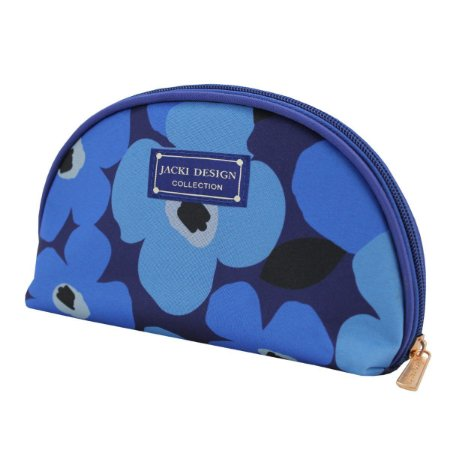 Necessaire Meia lua Papoula Jacki Design Azul