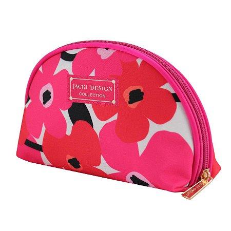 Necessaire Meia Lua Papoula Jacki Design Pink