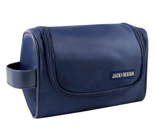 Necessaire masculina com gancho Jacki Design Azul